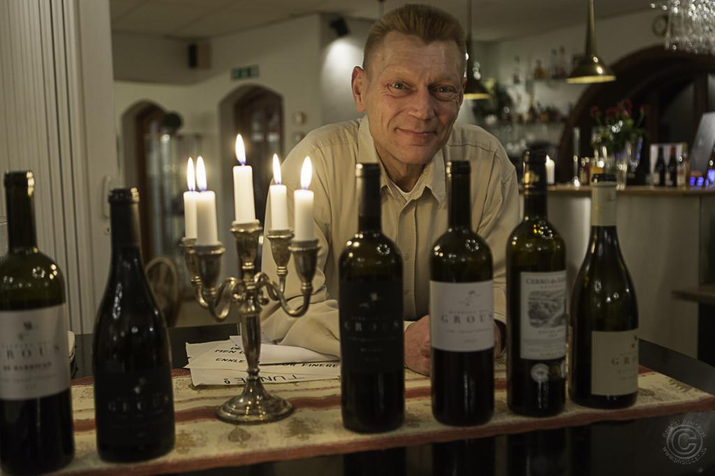 Vinsmagning på Anneberg med Vinklub 4581 Rørvig